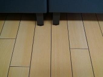 固定椅子周りの洗浄